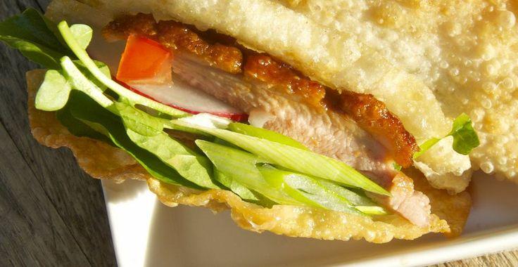 Mini Thai Duck Tacos - Chef Kara Mickelson
