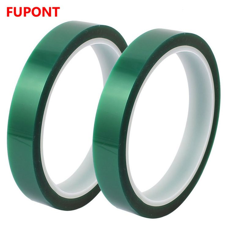 High Heat Green PET Polyester Binding Tape with Silicone Adhesive for BGA Soldering