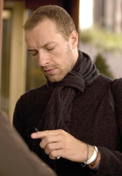 Chris Martin~someday I want to see him play Hugh Laurie's son!
