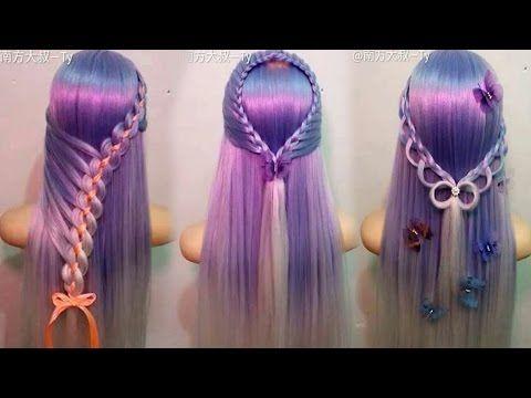 10 Amazing Hairstyles Tutorials Life Hacks for Girls - YouTube
