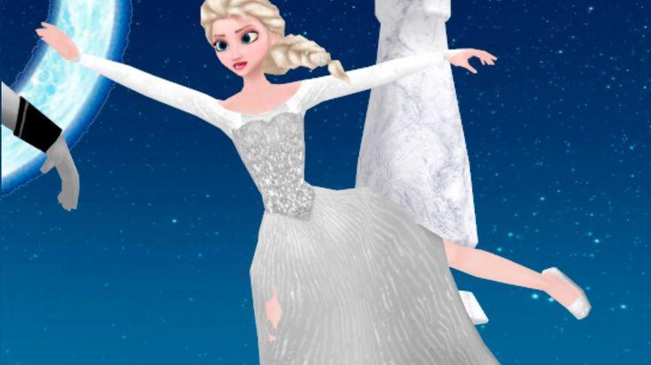 """Hans y Elsa Frozen / Canción """"Me voy enamorando""""- Kids songs (FROZEN)"""