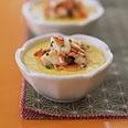 Steamed Corn Custard with Crab