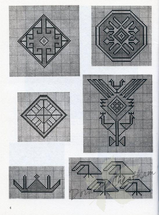 Gallery.ru / Фото #4 - Persian Rug Motifs for Needlepoint - Dora2012