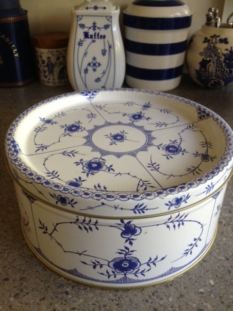 ...Royal Copenhagen Blue Fluted design