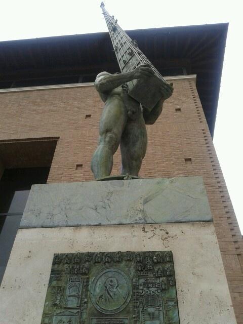 L'Ercole di Ivan Theimer a Foligno