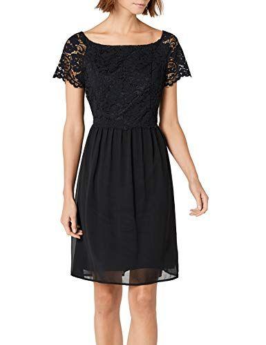 00136 087eo1e011 Damen Collection Esprit Kleid Schwarzblack 0wnOPk