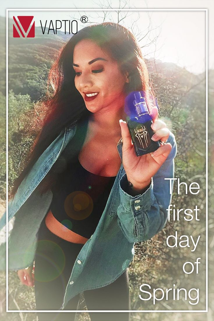 """There is a saying that """"Make your whole year's plans in the spring, and your day's plans early in the morning."""" What's your plan for the first day of Spring? #vaptio #vape #vaping #ecig"""