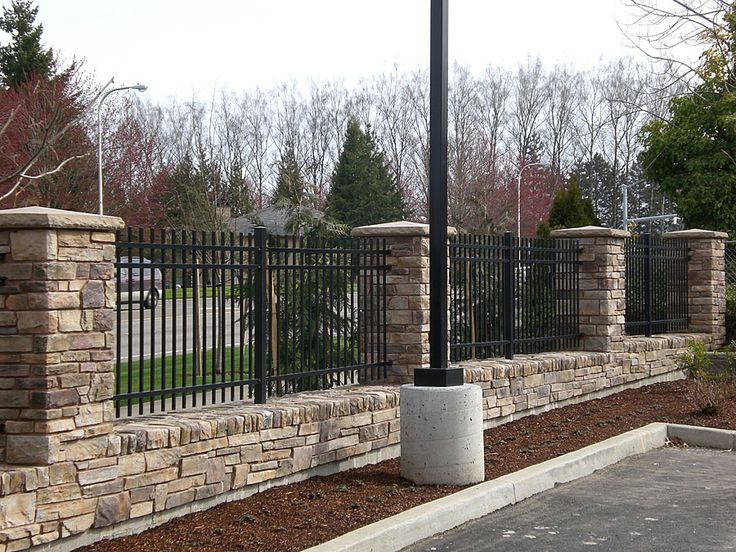 wall fence facade fencing pinterest decks gates and autos - Wall Fencing Designs