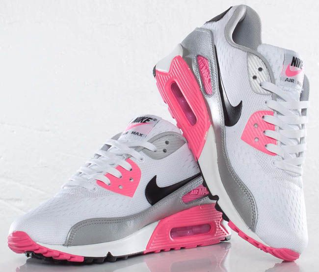 Nike Air Max 90 Premium Pearl White Running Shoes