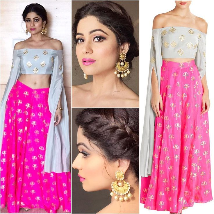 """9,678 Likes, 25 Comments - A Fashionista's Diary (@afashionistasdiaries) on Instagram: """"@shamitashetty_official  Outfit - @houseofmasaba  Jewelry - @anmoljewellers  #bollywood #style…"""""""