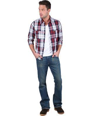 Lee Seth Slim Fit Denim Jeans Blue