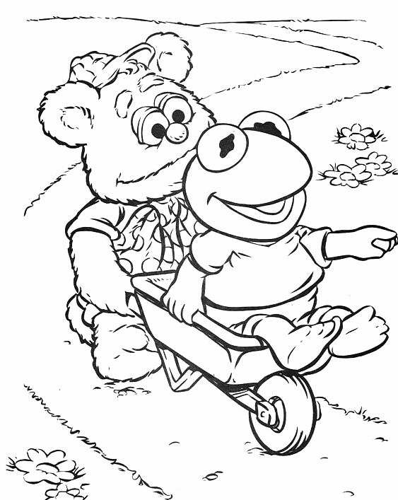 40 best muppets images on Pinterest Coloring pages Print coloring