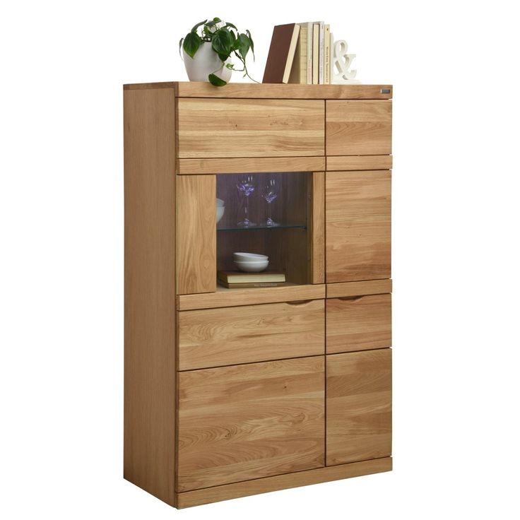 cantus highboard 90 140 40 6 cm eiche furniert braun jetzt bestellen unter https moebel. Black Bedroom Furniture Sets. Home Design Ideas