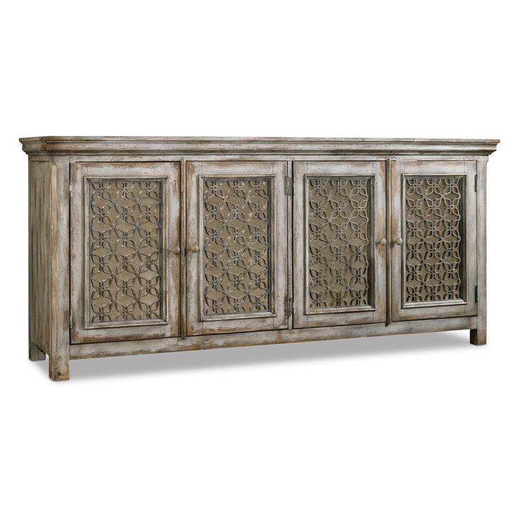 hooker furniture melange dorian credenza in maple - Credenza Furniture