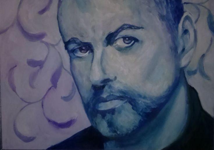 George MICHAEL (Malarstwo) przez ANNA  BARDZKA