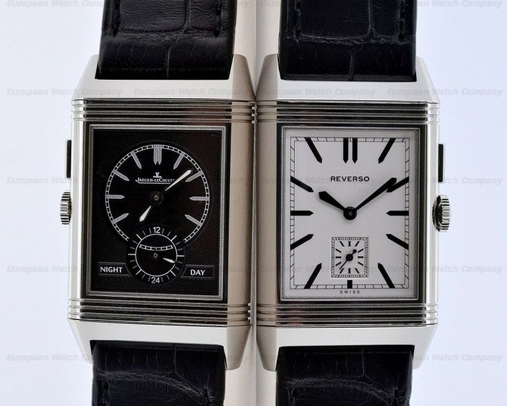 European Watch Company: Jaeger LeCoultre Grande Reverso Ultra Thin Duoface 378.85.70....You never get bored with the Duo!