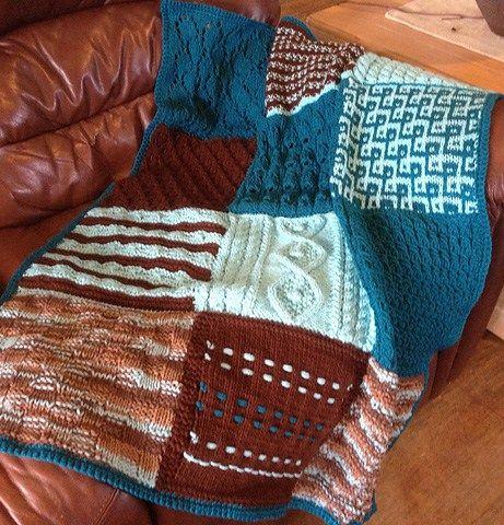 Sampler Afghan Knitting Pattern Choice Image Knitting Patterns