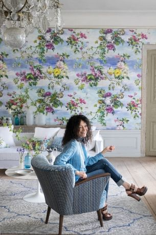 Tricia Guild on the importance of texture and colour when decorating: Designers Guild's founder takes us on a tour of her design studio and shares her favorite fabrics and wall coverings from the Autumn 2015 collection.