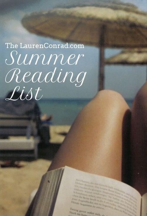 Good Reads: My Summer Reading List