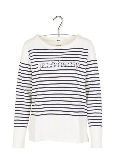 http://www.monshowroom.com/fr/zoom/mkt-studio/t-shirt-ecru-rayures-marine-flocage-eponge-trini/309901