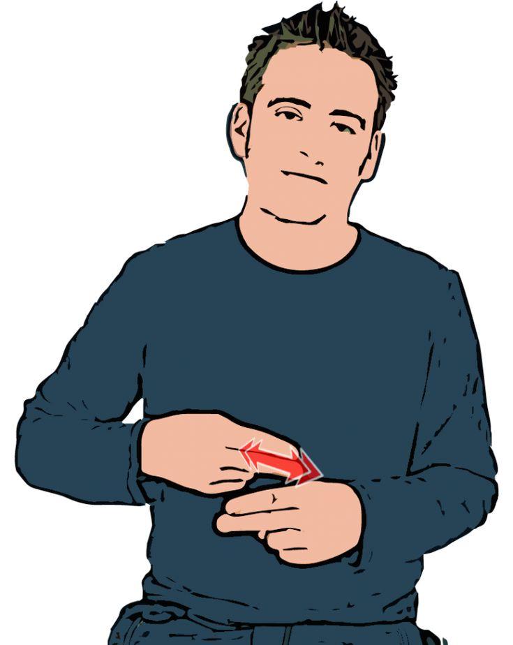 KNIFE- British Sign Language (BSL)