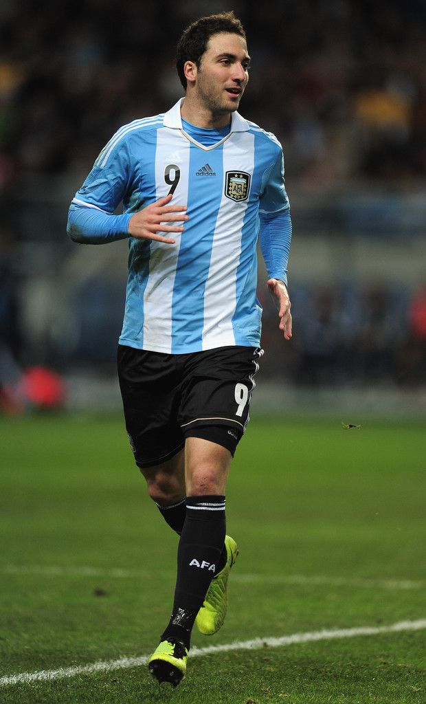 Gonzalo Higuain Photo - Sweden v Argentina - International Friendly