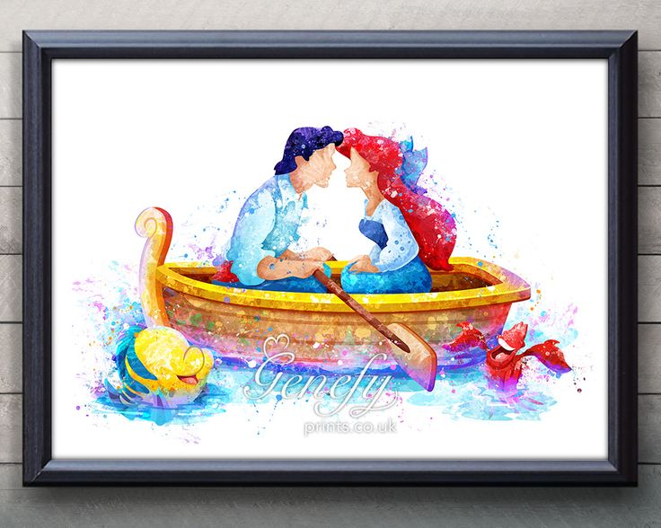 1000 images about disney watercolor art on pinterest for Eric mural painter