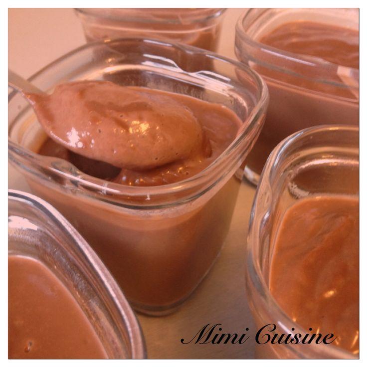 Crèmes dessert au chocolat caramel Recette Companion . Retrouvez mes recettes faites au Companion, Cookeo, Thermomix, MD, ou sans sur mon site Mimi Cuisine