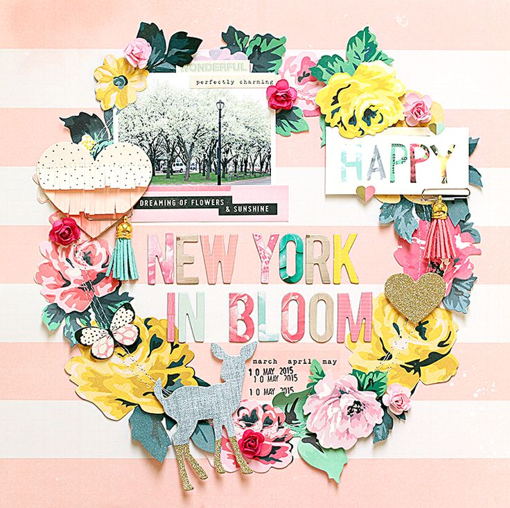 **Crate Paper** New York in Bloom by ashleyhorton1675 at @studio_calico