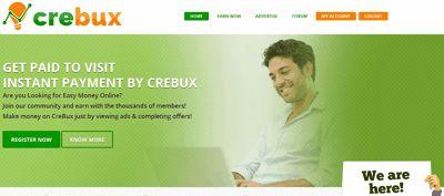 Crebux es una PTC registrada en Polonia y para muestra de ellos son los distintos sellos de seguridad como la verificación de McAfee y de SiteLock