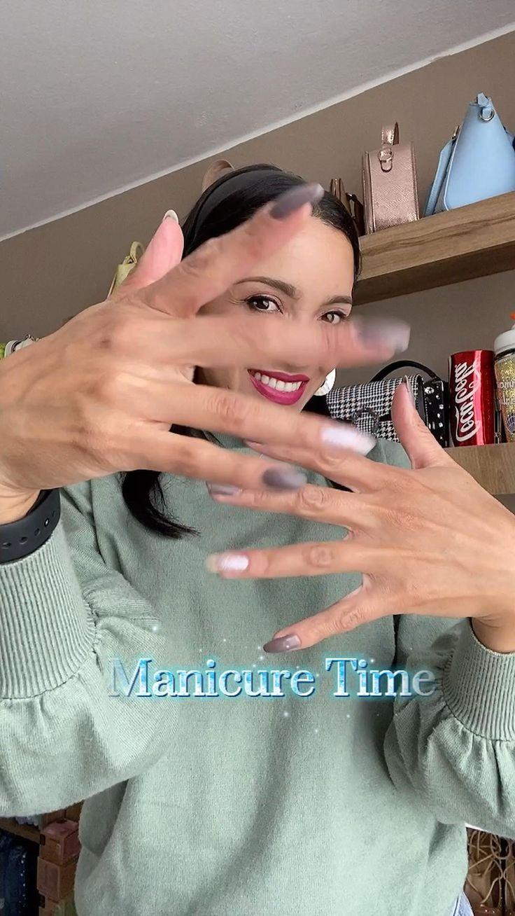 Beauty Tutorials, Beauty Hacks, Tie Dye Nails, Homemade Beauty Tips, Purple Nails, Tips Belleza, Stiletto Nails, Summer Nails, Lilac