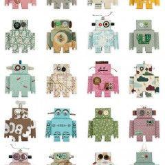 Studio Ditte - Behang kinderkamer Robot