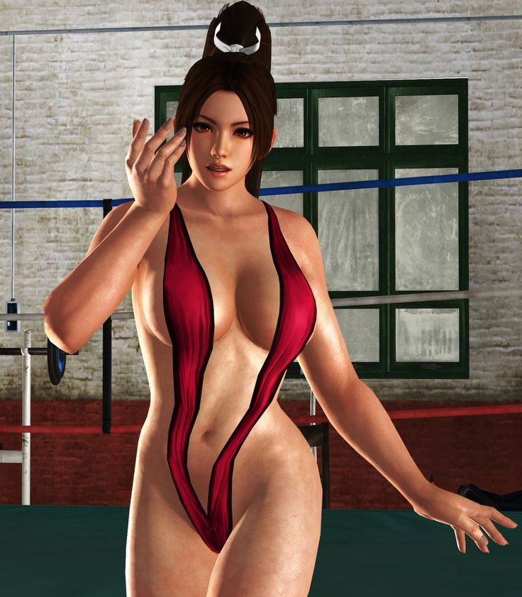 Mai On The Ring By Toshiie1  Dead Or Alive 5, Video Game -6352