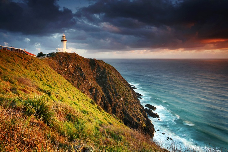 Beautiful stormy Byron... - with views of the lighthouse and Pacific Ocean, we get to see amazing views of the storms of Byron from Casa Blu.