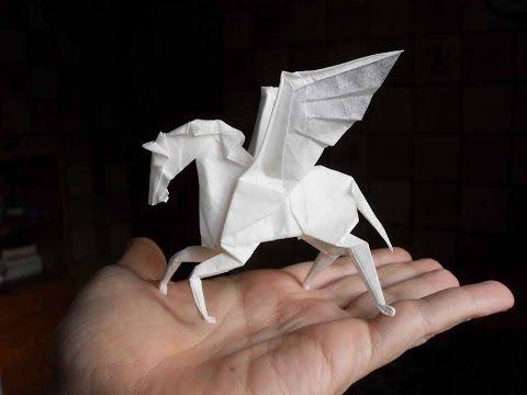 Origami Pegasus (Jo Nakashima) - YouTube
