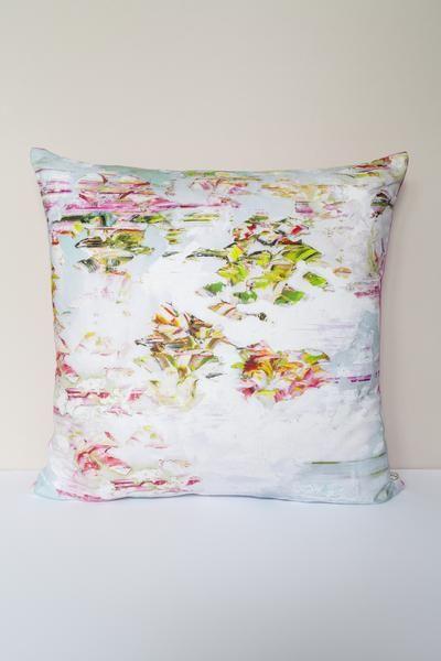 Pleasure Gardens Bloom Cushion: Jessica Zoob