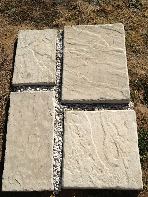 Shorleine paver in different sizes