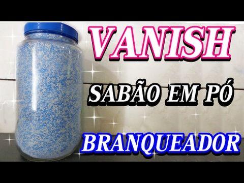 SABÃO EM PÓ VANISH CLAREADOR ANTIBACTERIANO/ PARA LIMPEZA PESADA/ROUPAS DIFÍCEIS - YouTube