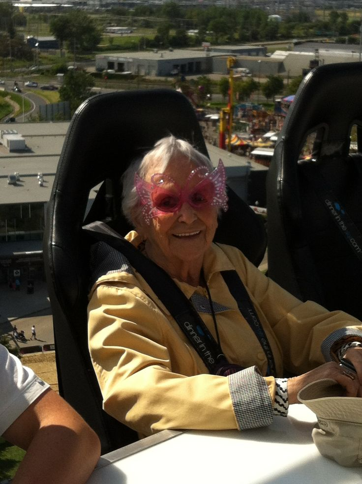 Notre doyenne, 89 ans.