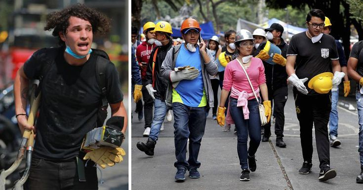 Muchos los critican, los tachan de egoistas, flojos y ensimismados, pero los millennials son los que más se han involucrado a la hora de ayudar en el sismo.