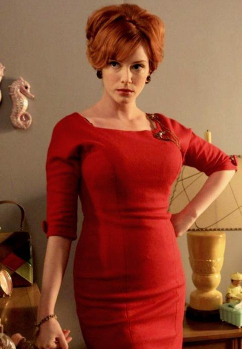 Christina Hendricks in Mad Men