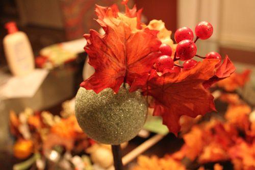 Fall Topiaries