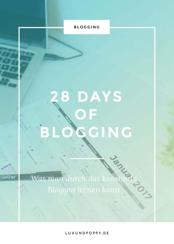 #28DaysOfBlogging Was kann man durch das Bloggen lernen?