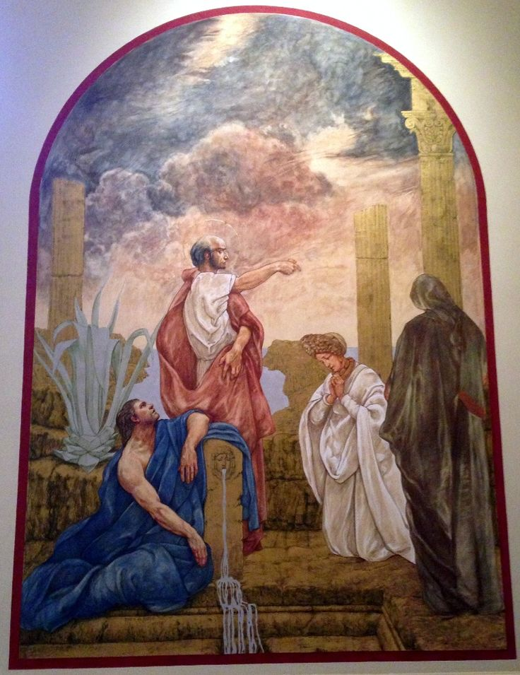 Baptism Of Priscilla The Martyr - Jan Henryk de Rosen (February 25, 1891 – August 22, 1982)