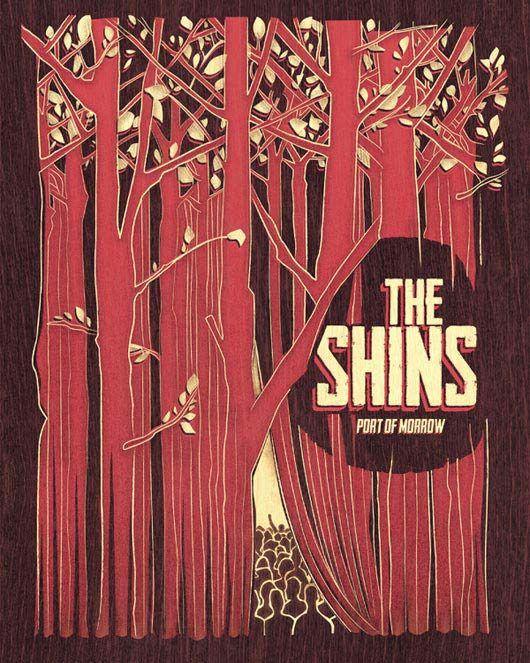 The Shins music gig posters   Gig Poster Design