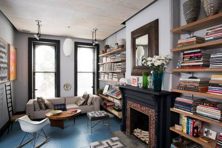The Secret in a Brooklyn Apartment Redo? Plywood