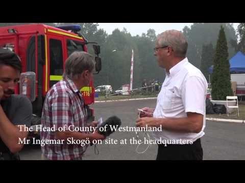 Stora Skogsbranden Ramnäs 2014