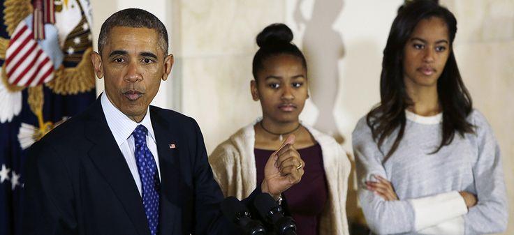 Slate : Ça y est, Barack Obama est un père qui fout la honte à ses filles adolescentes