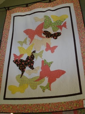 Butterfly Quilt. one of these days i'm going to start quilting again