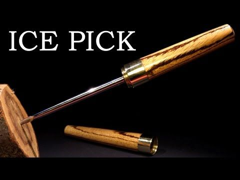 [Video] Turn Your Old And Blunt Screwdrivers Into Sleek And Sharp Ice Picks. - Page 2 of 2 - Brilliant DIY